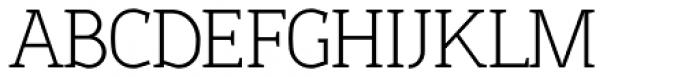 Sadi Extra Light Font UPPERCASE