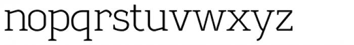 Sadi Extra Light Font LOWERCASE