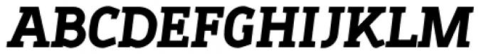 Sadi Heavy Italic SC Font UPPERCASE
