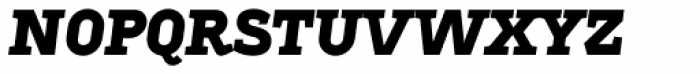 Sadi Heavy Italic SC Font LOWERCASE