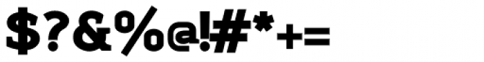 Sadi Heavy Font OTHER CHARS