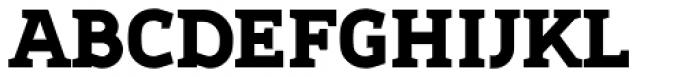 Sadi Heavy Font UPPERCASE