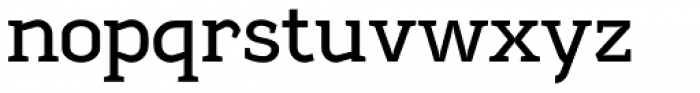 Sadi Medium Font LOWERCASE