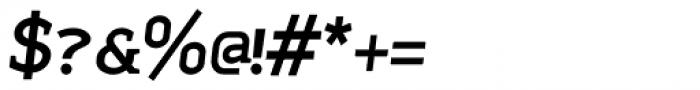 Sadi Semi Bold Italic SC Font OTHER CHARS