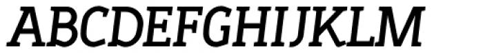 Sadi Semi Bold Italic SC Font UPPERCASE