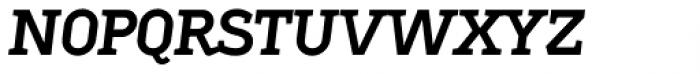 Sadi Semi Bold Italic SC Font LOWERCASE