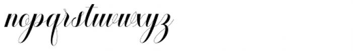 Safelight Script Regular Font LOWERCASE