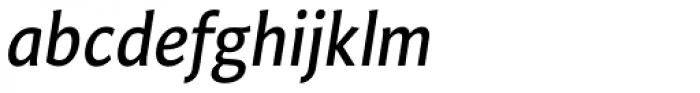 Safran Italic Font LOWERCASE