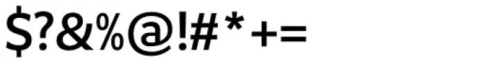 Safran Medium Font OTHER CHARS