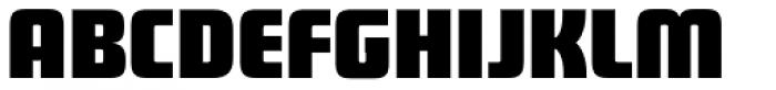 Sagan Black Font UPPERCASE
