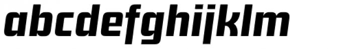 Sagan Bold Italic Font LOWERCASE