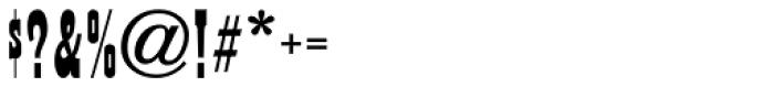 Sagebrush JNL Font OTHER CHARS