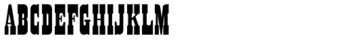 Sagebrush JNL Font UPPERCASE
