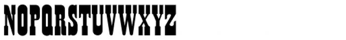 Sagebrush JNL Font LOWERCASE