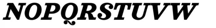 Sagona Extra Bold Italic Font UPPERCASE