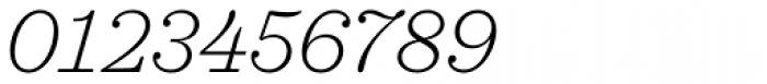 Sagona Extra Light Italic Font OTHER CHARS