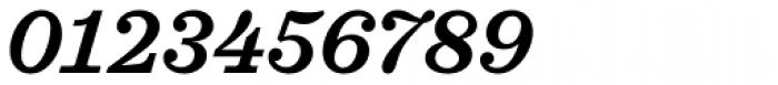 Sagona Semi Bold Italic Font OTHER CHARS