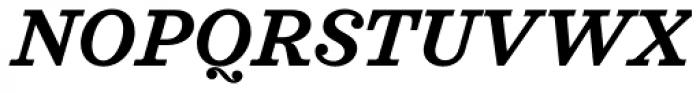 Sagona Semi Bold Italic Font UPPERCASE