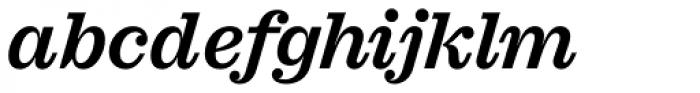 Sagona Semi Bold Italic Font LOWERCASE