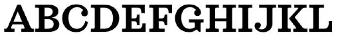 Sagona Semi Bold Font UPPERCASE