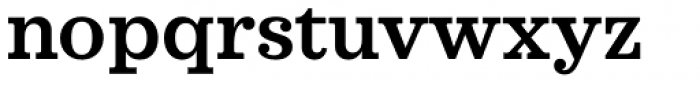 Sagona Semi Bold Font LOWERCASE