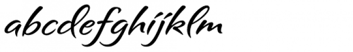 Sagrantino Font LOWERCASE