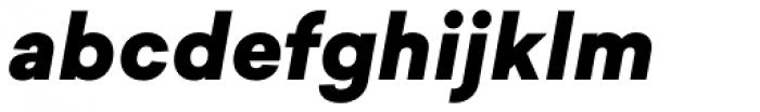 Sailec Black Italic Font LOWERCASE