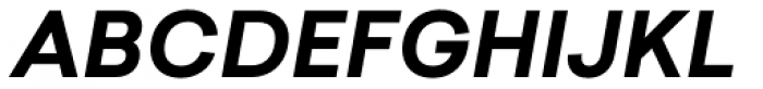 Sailec Bold Italic Font UPPERCASE