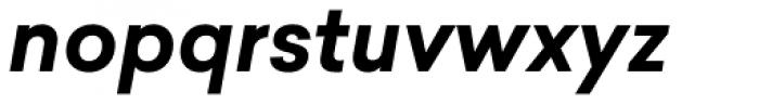 Sailec Bold Italic Font LOWERCASE