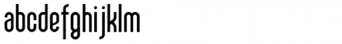 Sailfin Bold Font LOWERCASE