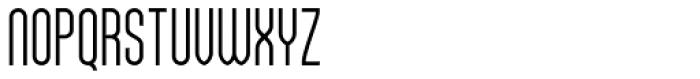 Sailfin Font UPPERCASE