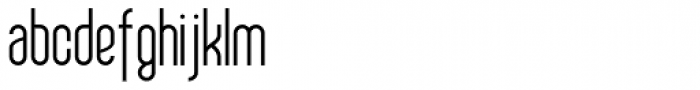 Sailfin Font LOWERCASE