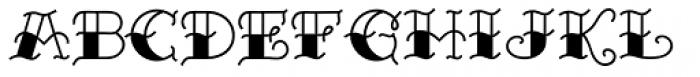 Sailor Marie Black Bottom Font LOWERCASE