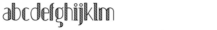 Sailors Dream ROPE Font LOWERCASE
