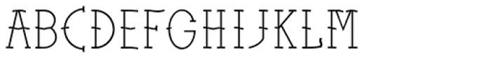 Sailors Tattoo Pro Light Font LOWERCASE
