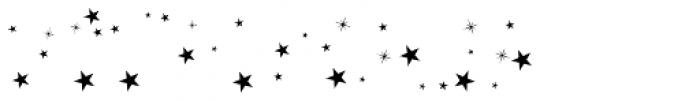 Sailors Tattoo Pro Xmas Stars Font OTHER CHARS