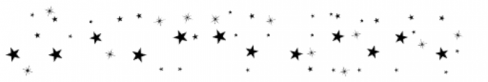 Sailors Tattoo Pro Xmas Stars Font UPPERCASE