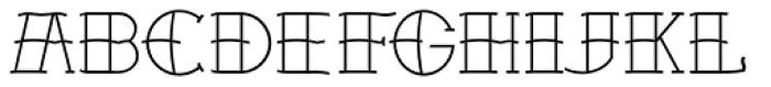 Sailors Tattoo Pro Font UPPERCASE