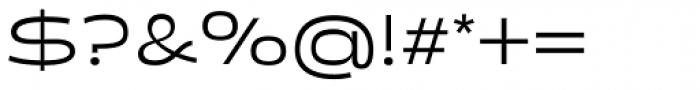 Salish Regular Font OTHER CHARS