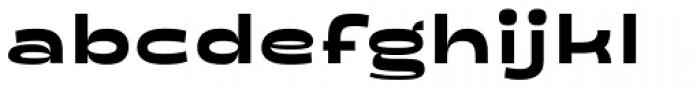 Salish Ultra Bold Font LOWERCASE