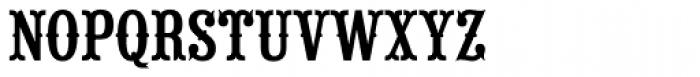 Saloon Girl Font UPPERCASE