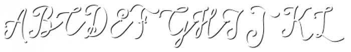 Salt & Spices Mono Bold Shadow Font UPPERCASE
