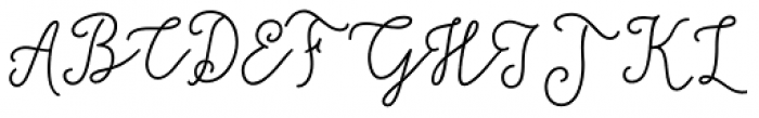 Salt & Spices Mono Regular Font UPPERCASE