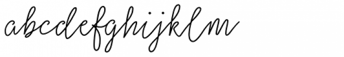 Salt & Spices Mono Regular Font LOWERCASE