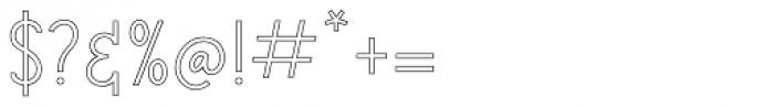 Salt & Spices Mono SC3 Font OTHER CHARS