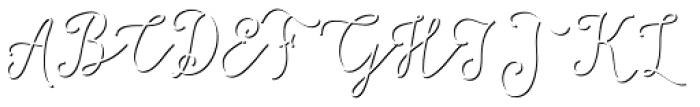 Salt & Spices Mono Shadow Font UPPERCASE