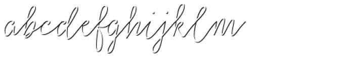 Salt & Spices Mono Shadow Font LOWERCASE