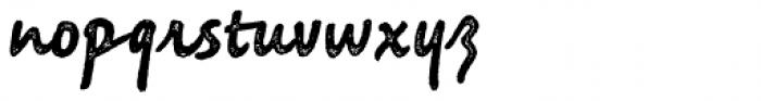 Saltbush Rough Bold Font LOWERCASE