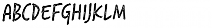 Saltbush Rough Regular Font UPPERCASE