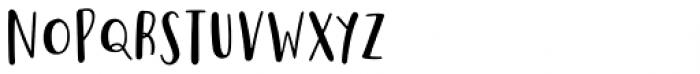 Saltbush Sans Font UPPERCASE